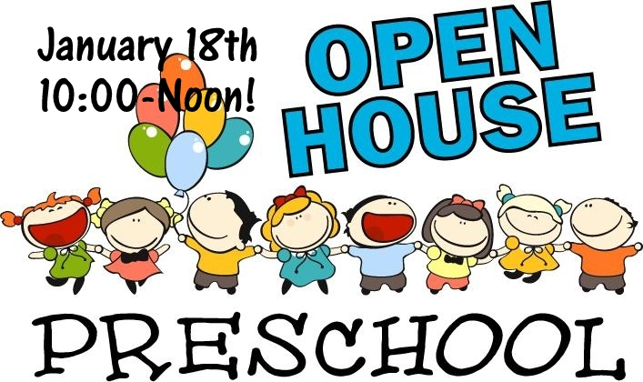 January 18 open-house-school-clipart